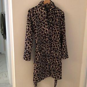 Adonna super soft animal print Robe